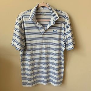 Under Armour men's loose fit heat gear polo #6075